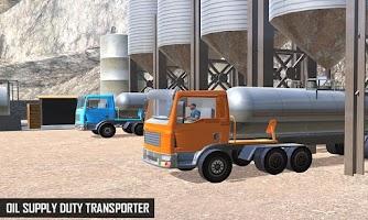 Offroad Oil Tanker Truck Transport Simulation Game