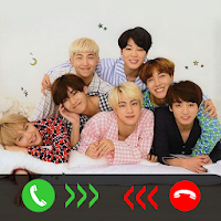 BTS Call You - BTS Fake Video Call