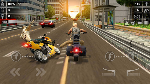 Road Rash 3D: Smash Racing apkpoly screenshots 3