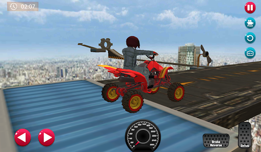 ATV Quad City Bike: Stunt Racing Game 1.0 screenshots 5