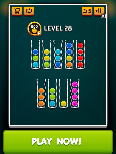 Sort Ball Puzzle apkpoly screenshots 4