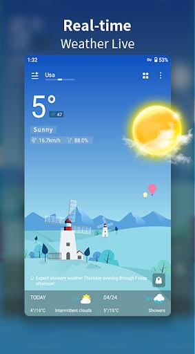 Weather Forecast - Live Weather Alert & Widget 1.13 Screenshots 3