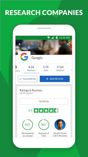 Glassdoor - Job search, company reviews & salaries  Screenshots 8