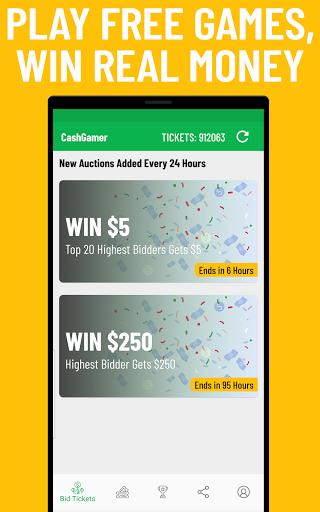 Make Money Free: Play Games & Win Real Cash Prizes  screenshots 1