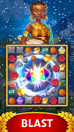 Jewels of Rome: Gems and Jewels Match-3 Puzzle  screenshots 3