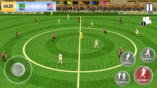Soccer League Season 2021: Mayhem Football Games  screenshots 4