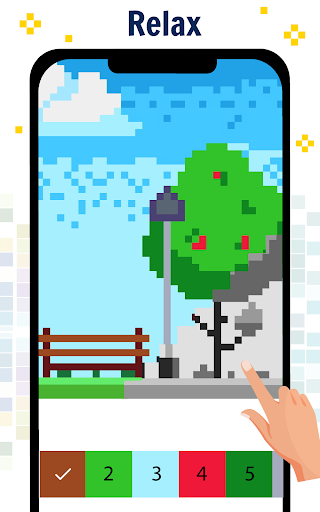Pixel Art Color by number - Coloring Book Games 2.2 screenshots 10