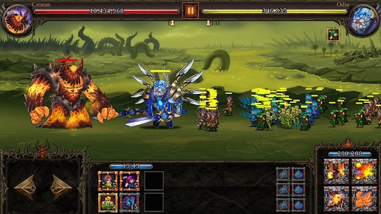Epic Heroes War: Action + RPG + Strategy + PvP Screenshot