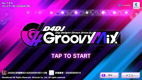 D4DJ Groovy Mix(グルミク) v2.1.8 Mod Menu [AutoDance with choosable %Perfect (Never Miss or Bad)] 5
