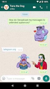 ANIMIERT Sticker Memes Superheld WAstickerapps Screenshot