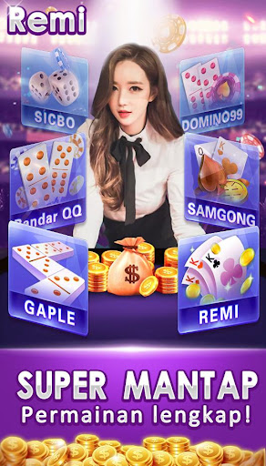 remi joker poker capsa susun Domino qq gaple pulsa 1.4.4 Screenshots 3