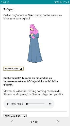 Namoz o'qishni o'rganish | Batafsil qo'llanma  Screenshots 6