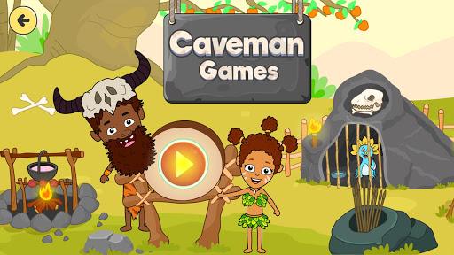 My Dinosaur Town - Jurassic Caveman Games for Kids 3.3 screenshots 1