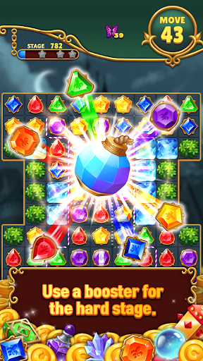 Jewels Mystery: Match 3 Puzzle apkpoly screenshots 3
