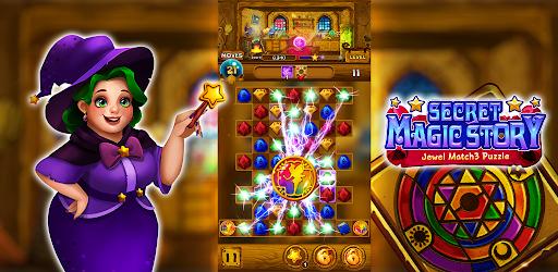 Secret Magic Story: Jewel Match 3 Puzzle android2mod screenshots 16