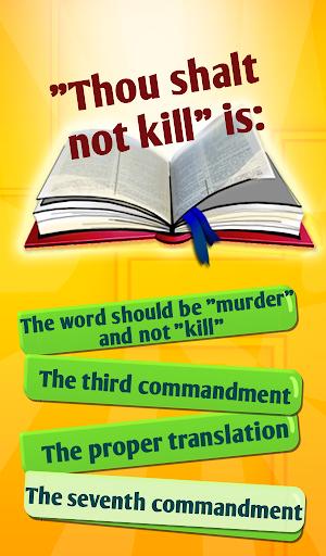 Bible Trivia Quiz Game With Bible Quiz Questions 6.1 screenshots 8