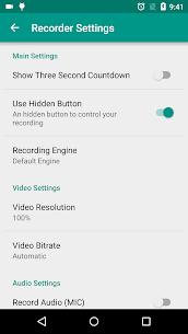 ADV Screen Recorder MOD APK 4.5.2 (PRO Unlocked) 7