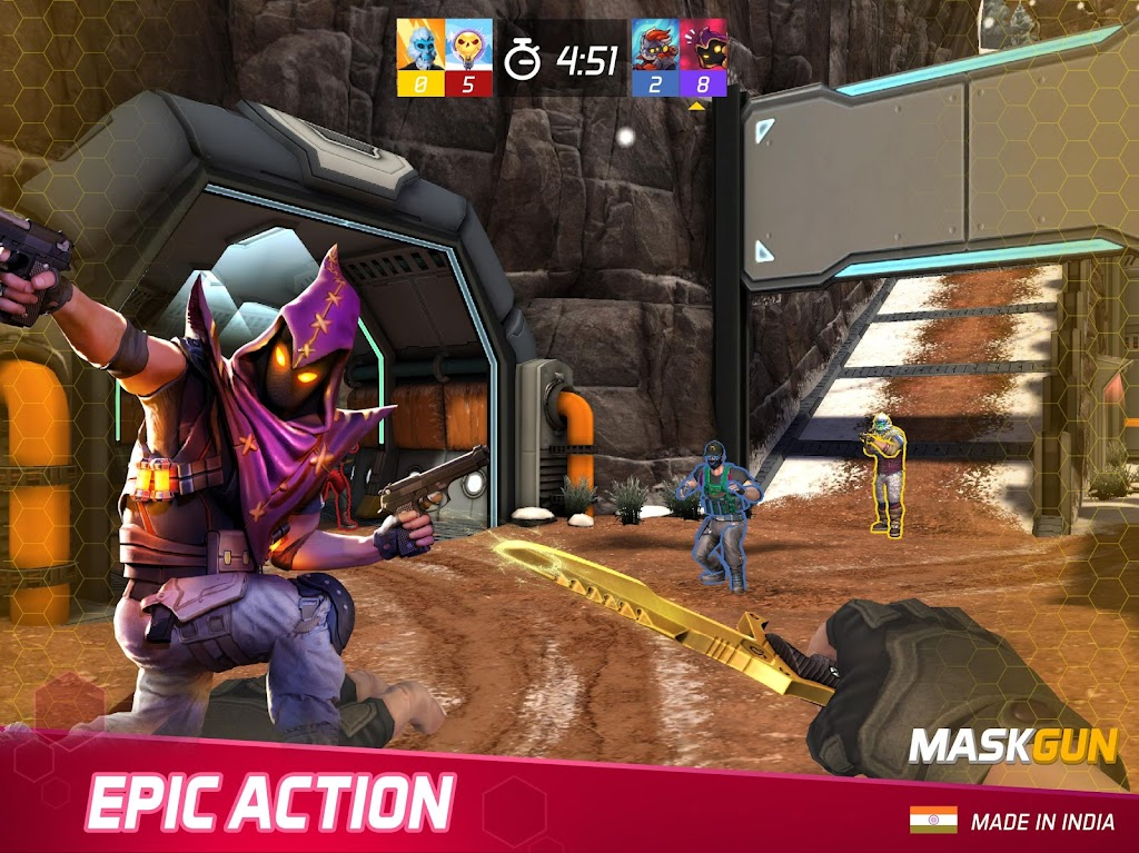 MaskGun Multiplayer Shooting Game - Made in India poster 7