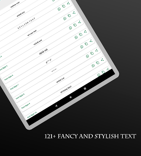 Stylish Fonts 11.09.2020 Screenshots 12