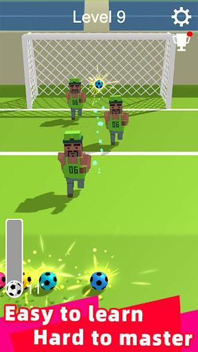 Straight Strike - 3D soccer shot game screenshots 11