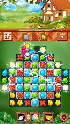 Garden Dream Life: Flower Match 3 Puzzle Apkfinish screenshots 4