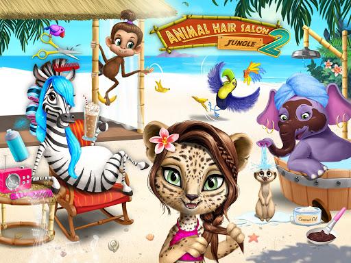 Jungle Animal Hair Salon 2 screenshot 18