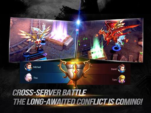 Goddess: Primal Chaos - Free 3D Action MMORPG Game screenshots 1