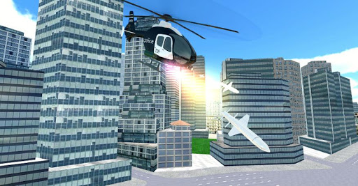Police Helicopter City Flying 1.2 screenshots 5