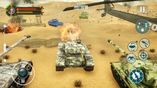 Battle of Tank games: Offline War Machines Games  screenshots 1