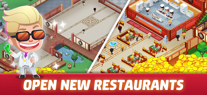 Idle Restaurant Tycoon - Cooking Restaurant Empire Screenshot