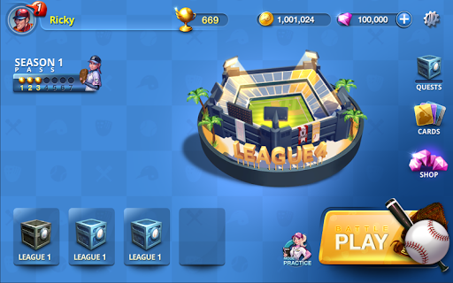 Baseball Clash: Real-time game 1.2.0010432 screenshots 17