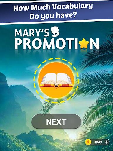 Maryu2019s Promotion- Wonderful Word Game  screenshots 13
