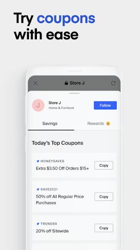 Honey Smart Shopping Assistant  Screenshots 5