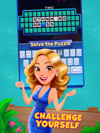 Bubble Pop: Wheel of Fortune! Puzzle Word Shooter apkpoly screenshots 11