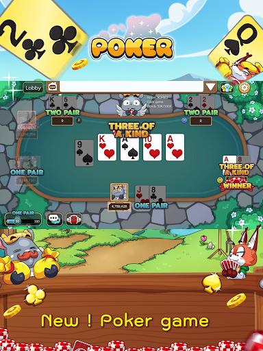 Dummy & Toon Poker Texas slot Online Card Game  Screenshots 10