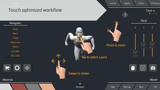 El Pose 3D 1.0.7 Screenshots 1