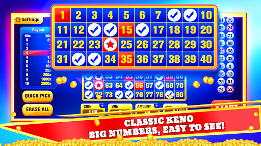 Keno Jackpot - Keno Games with Free Bonus Games! 4.0 screenshots 2