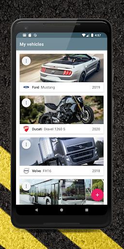 Carango - Car Management and Fuel Log  screenshots 1