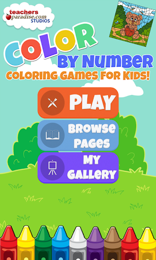 Color By Numbers - Art Game for Kids and Adults 4 screenshots 1