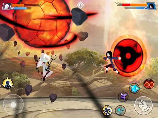 Stickman Shinobi : Ninja Fighting 2.2 screenshots 8