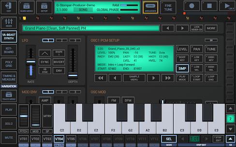 G-Stomper Producer Mod Apk (Full Version Paid) 5