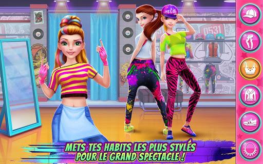 Jeu d'École de danse Hip Hop APK MOD – Monnaie Illimitées (Astuce) screenshots hack proof 1