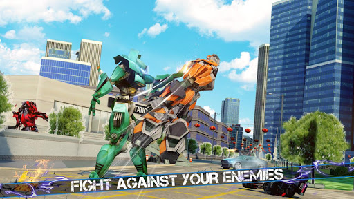 Grand Robot Car Crime Battle Simulator apktram screenshots 8