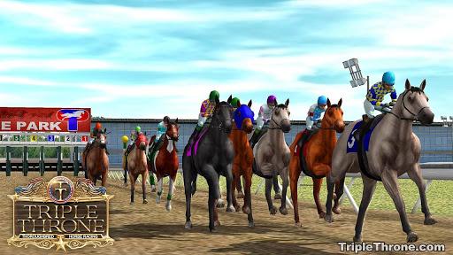 Triple Throne Horse Racing windows 1