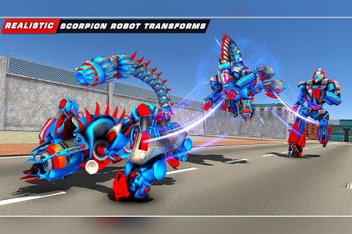 Scorpion Robot Transforming u2013 Robot shooting games  screenshots 9
