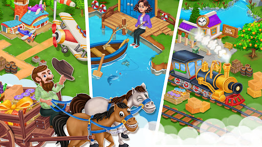 Farm Garden City Offline Farm apkdebit screenshots 5