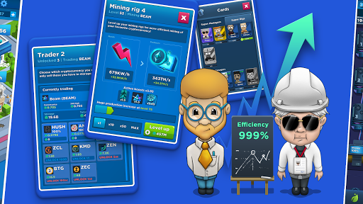 Crypto Idle Miner: Bitcoin mining game  screenshots 2