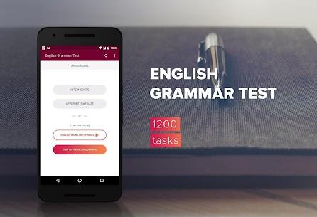 English Grammar Test v1.12.0 MOD APK by SevenLynx 1