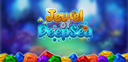 Jewel of Deep Sea: Pop & Blast Match 3 Puzzle Game apkmartins screenshots 1