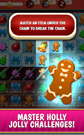 Christmas Crush Holiday Swapper Candy Match 3 Game 1.90 screenshots 4